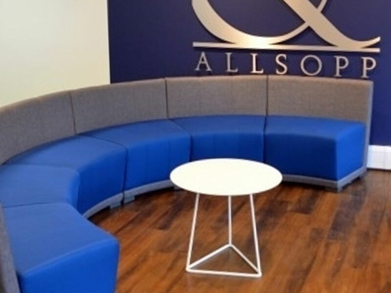Divani sale d'attesa per Allsopp&Allsopp