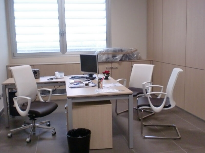 Sedie ufficio per Giusto Battiloro Manetti
