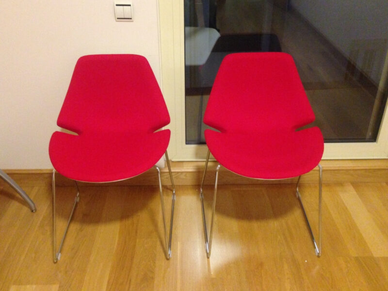 Sedie sala d'attesa per Studio Psichiatrico