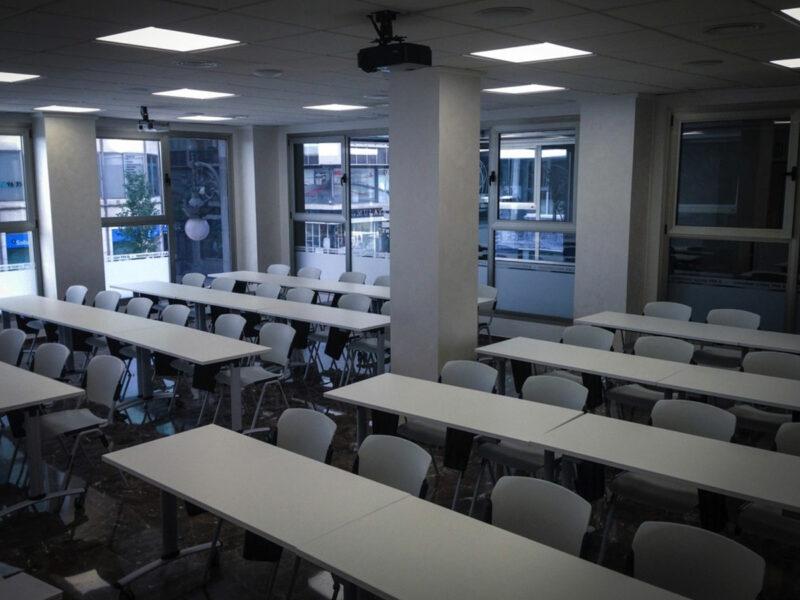 Sedie sala conferenze per Sindicato Profesores