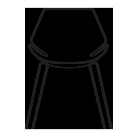 sedia visitatore eon
