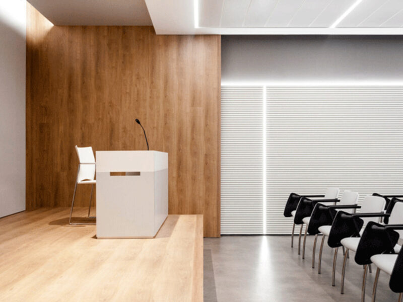 Sedie per sala conferenze Associazione Medica