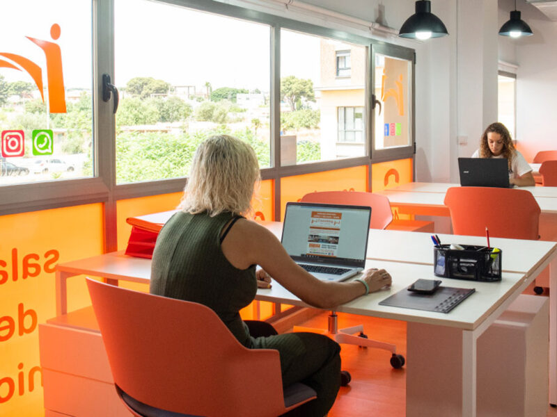 Sedie ufficio per Coworking Parc Central