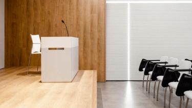 Progettare una sala conferenza