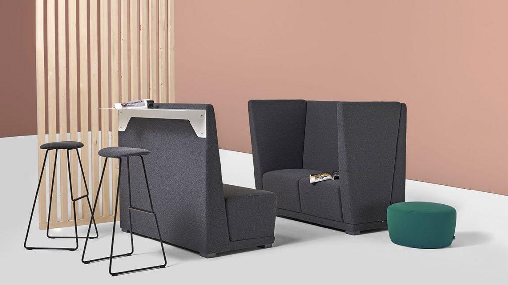 Divani per ufficio design by Diemme: circuit