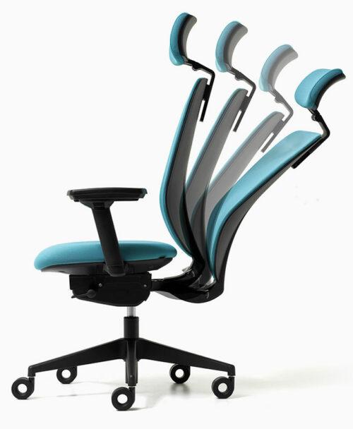 skin sedia ufficio supporto lombare
