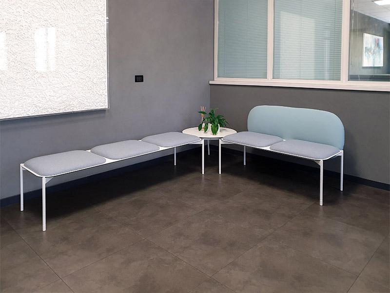sedie visitatore e divani attesa per Etra